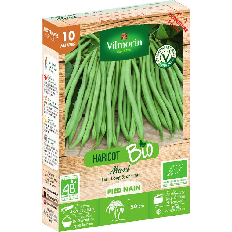 Semences pour haricot de la variété maxi - 10 m 400190