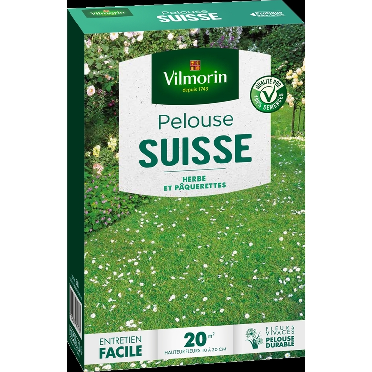 Pelouse suisse Vilmorin 500 g 400203