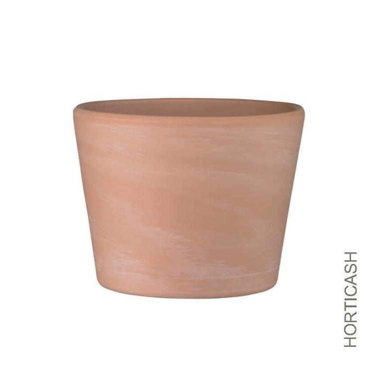 Cache-pot nature terre cuite Ø10,5xH9 cm 400279