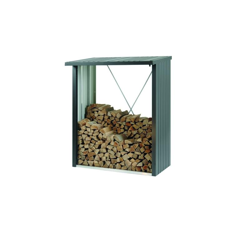 WoodStock 150 gris foncé métallique 157x102x199 cm 400356