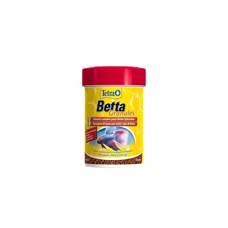Aliment pour poissons Tetra Betta en granules. La boite de 85 ml 167984