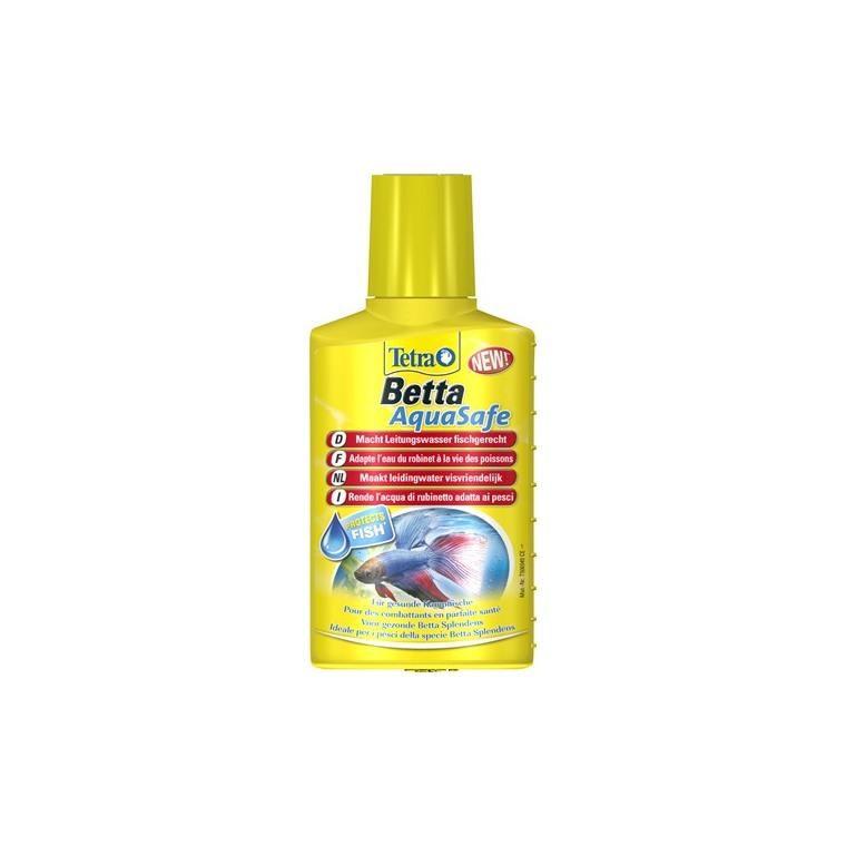 Conditionneur d'eau Tetra Betta Aquasafe. Le flacon de 100 ml 167985