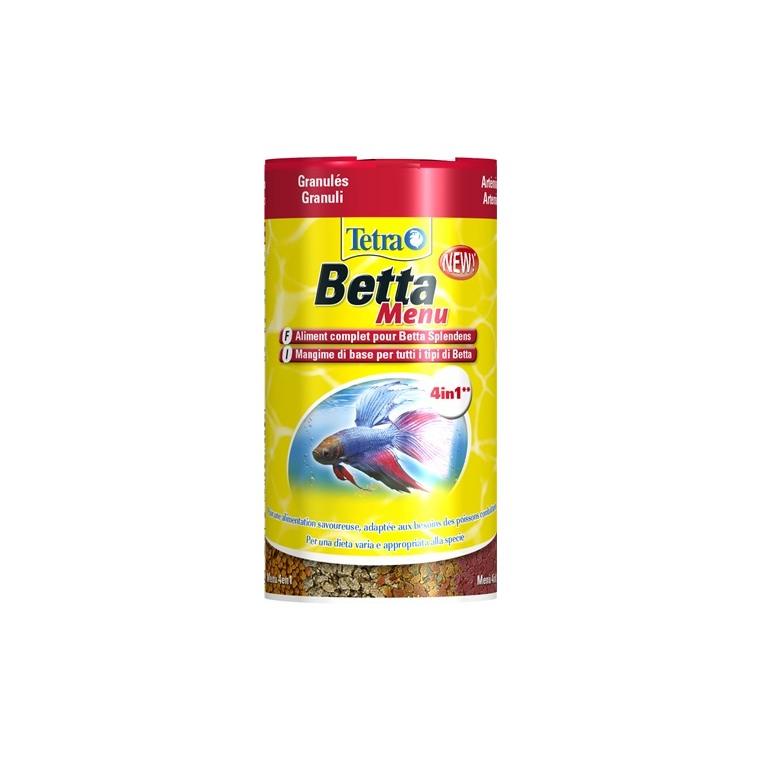 Aliment pour poissons Tetra Menu. La boîte de 100 ml 211081