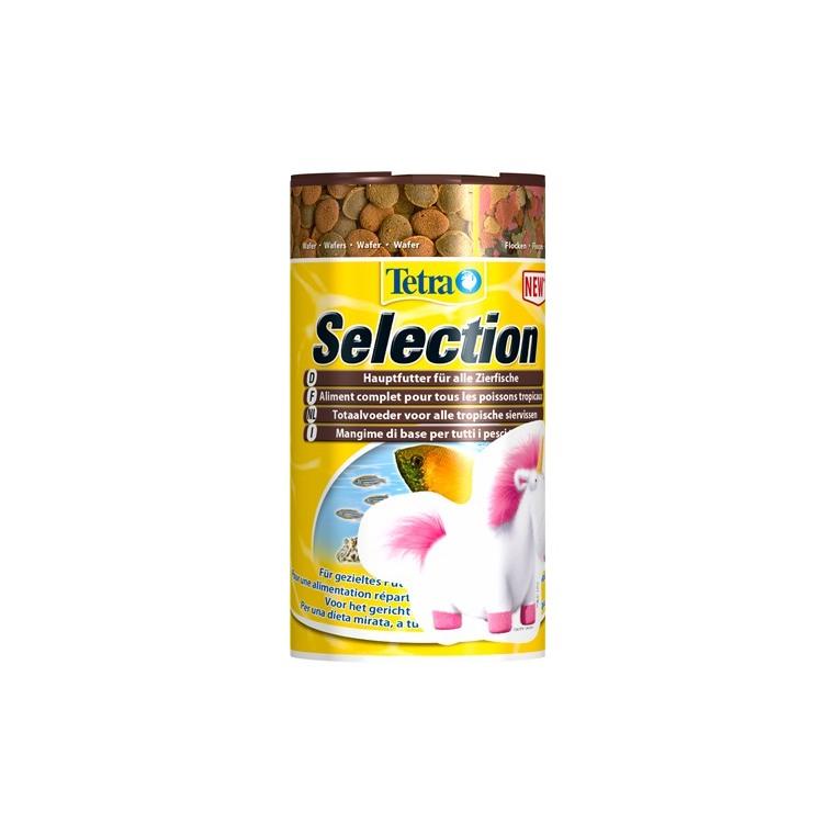 Aliment pour poissons Tetra Selection. La boîte de 250 ml 245624
