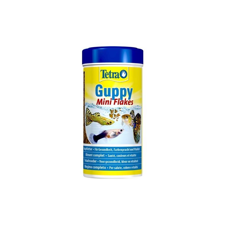 Aliment pour poissons Tetra Guppy. La boîte de 250 ml 58065
