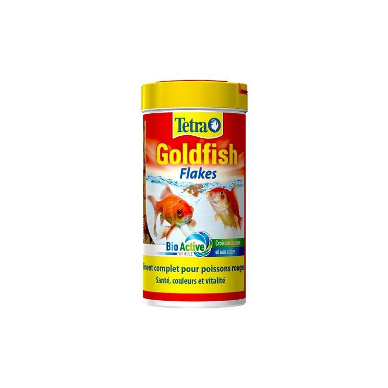 Aliment pour poissons Tetra Goldfish en flocons. La boite de 250 ml 57978