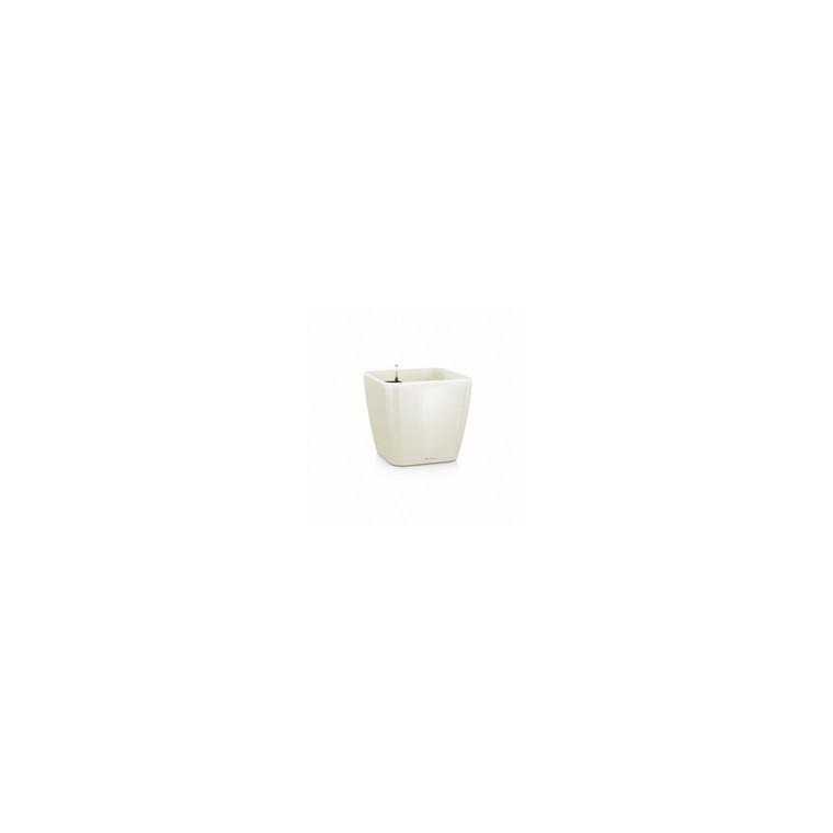 Pot 35cm Quadro kit complet Lechuza blanc L.35 x l.35 x H.33cm 40049
