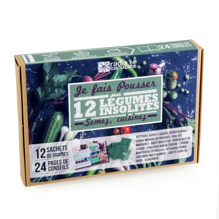 Coffret de 12 sachets de légumes insolites 400519