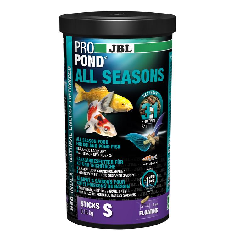 Nourriture ProPond toutes saisons pour poissons de petite taille 1 L 402454
