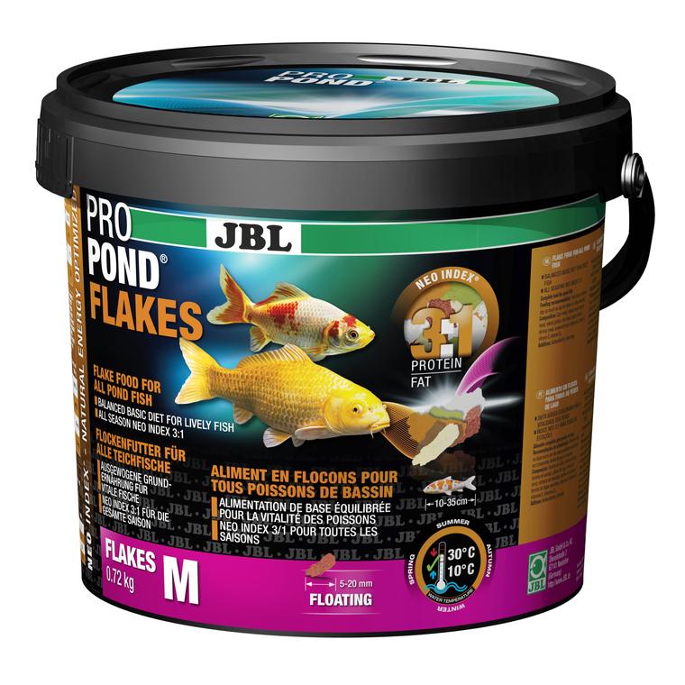 Nourriture ProPond en flocons pour poissons de taille moyenne 5,5 L 402458
