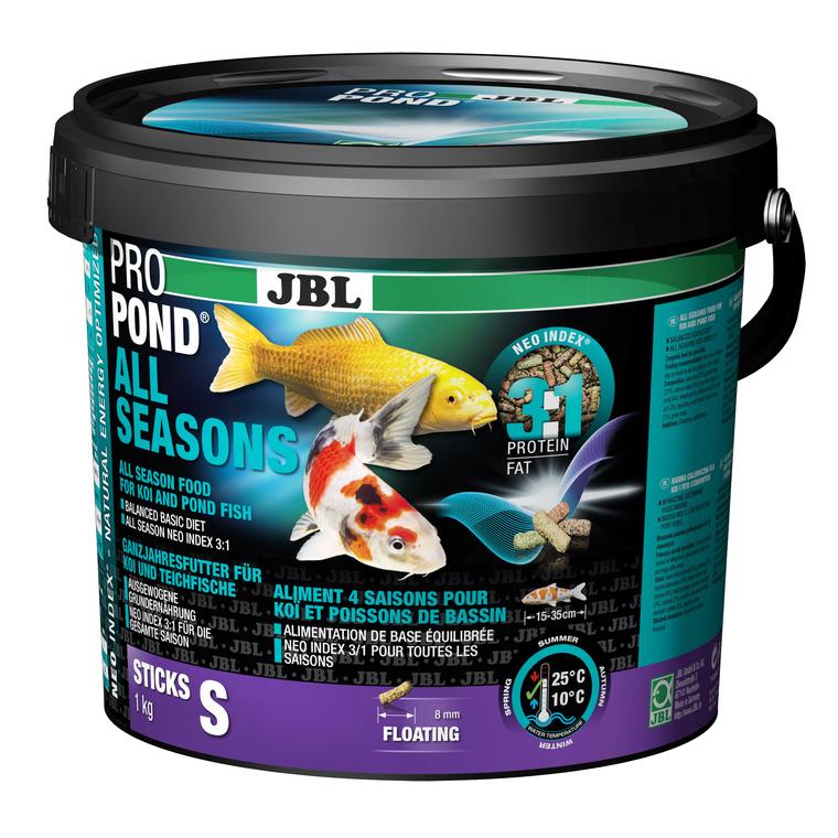 Nourriture ProPond toutes saisons pour poissons de petite taille 5,5 L 402461