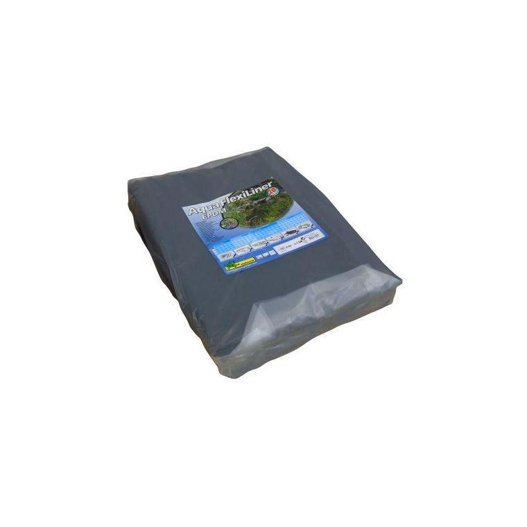 Bâche pour bassin 0,6 mm Aquaflexiliner noire 5,02x7,5 m 402491