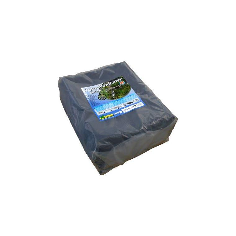 Bâche pour bassin 0,6 mm Aquaflexiliner noire 6,68x10 m 402509