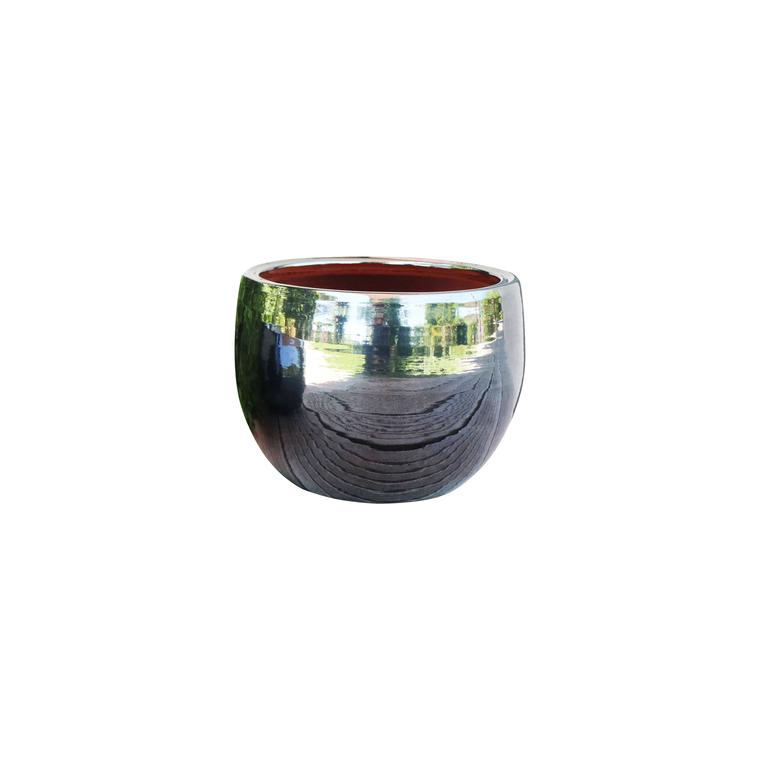Pot gris gamme le lisère Ø 20 cm 402604