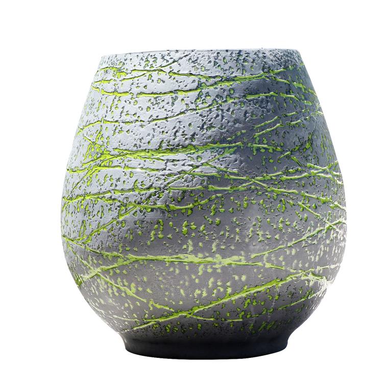 Pot gamme cheyenne terre de lave vert Ø 30 cm 402628
