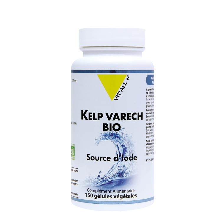 Kelp varech bio en boite de 150 gélules 402982