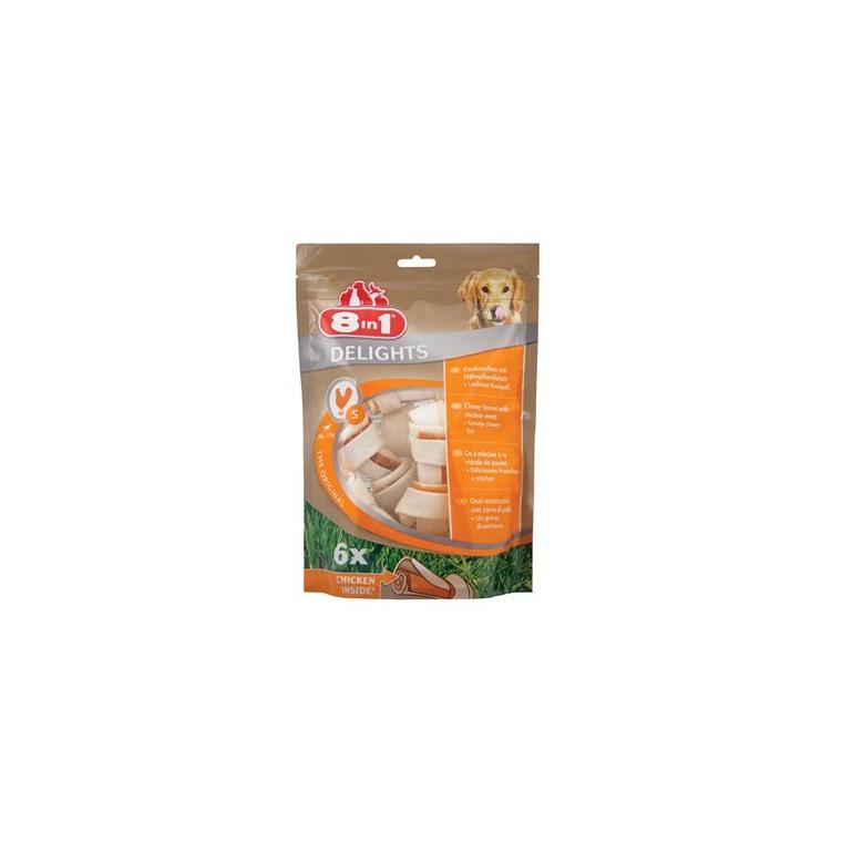 Friandises pour chien Delights 8in1 S 6 pièces 150673