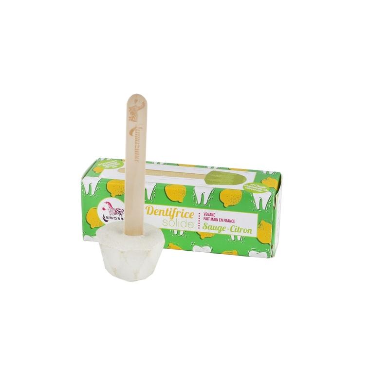 Dentifrice solide à la sauge et au citron 17 gr 405046
