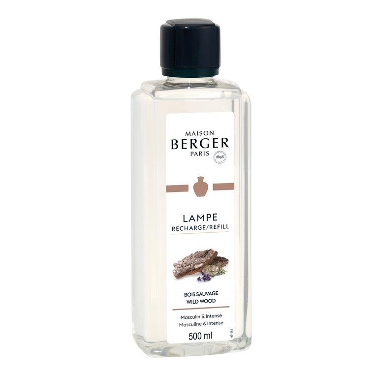 Parfum bois sauvage en flacon de 500 ml 405783