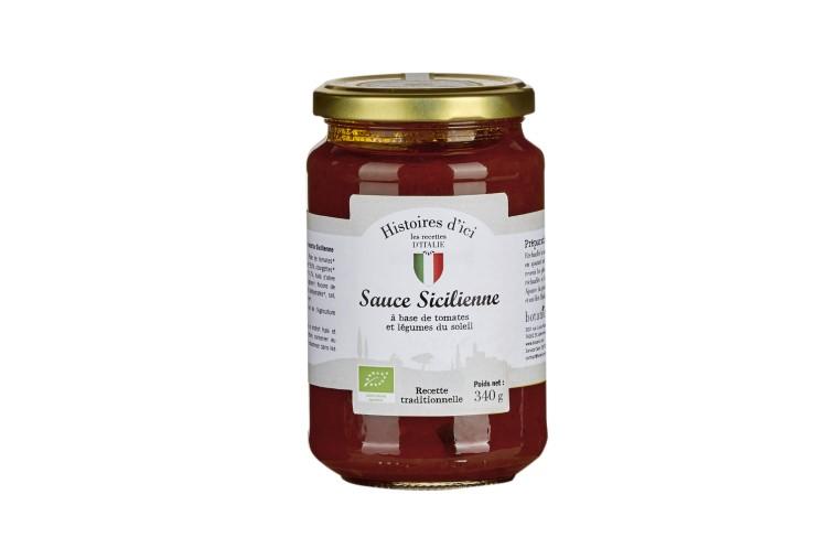 Sauce sicilienne Bio - 340 g 406435