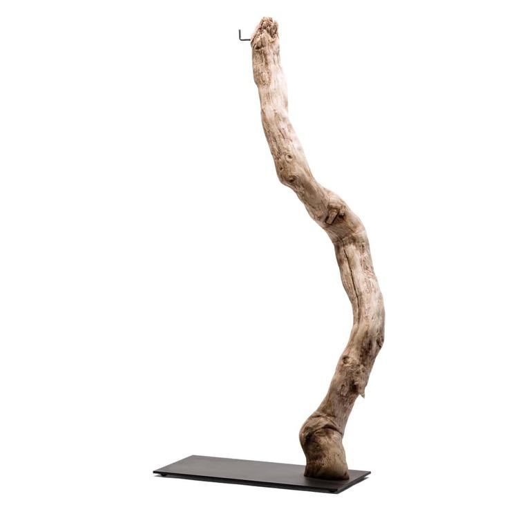 Pied pour terrarium L en bois 406481