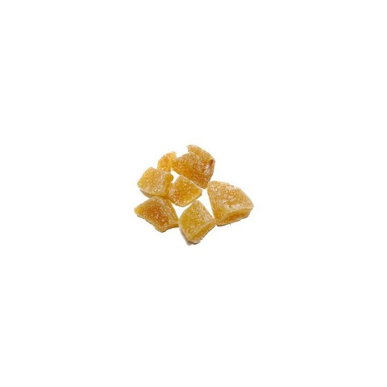 Gingembre bio confit en cubes – Prix au kilo 406826