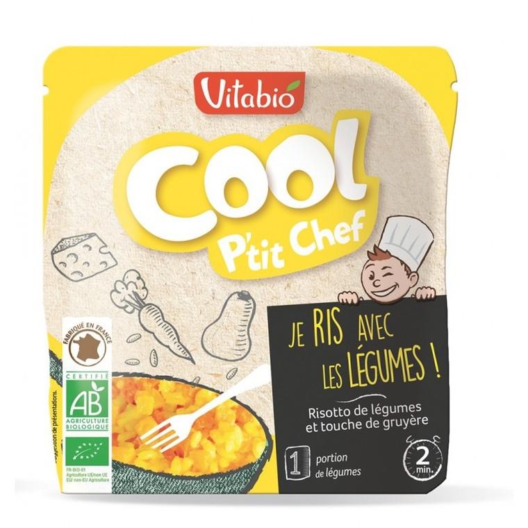 Gourde Cool p'tit chef bio risotto de légumes 190 g 406834