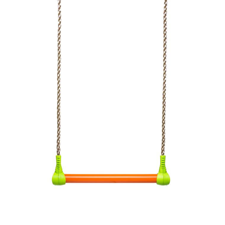 Trapèze avec tube en acier vert et orange pour portique de 1,9 à 2,5 m 406848