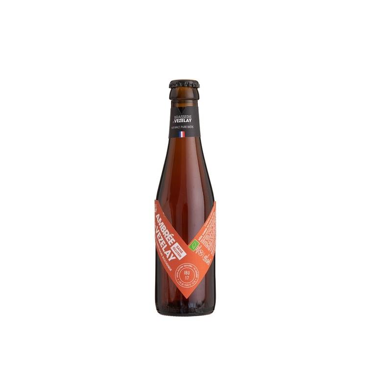 Bière ambrée bio sans gluten - 25 cl 406940
