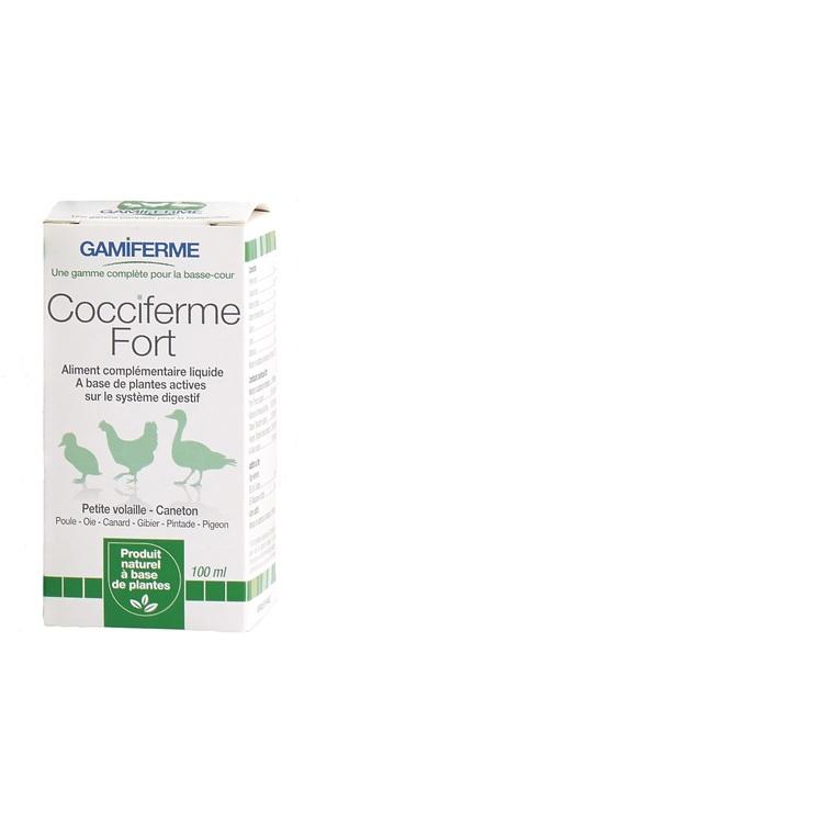 Cocciferme fort en flacon blanc pour rongeurs de 100 ml 407024