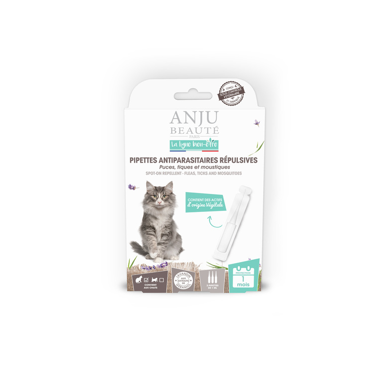 Pipette insectifuge pour chat x 3 407145