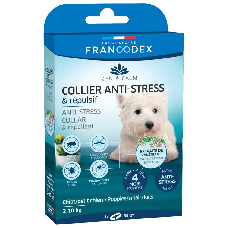 Collier anti-stress et répulsif pour petit chien et chiots - 35 cm 407276
