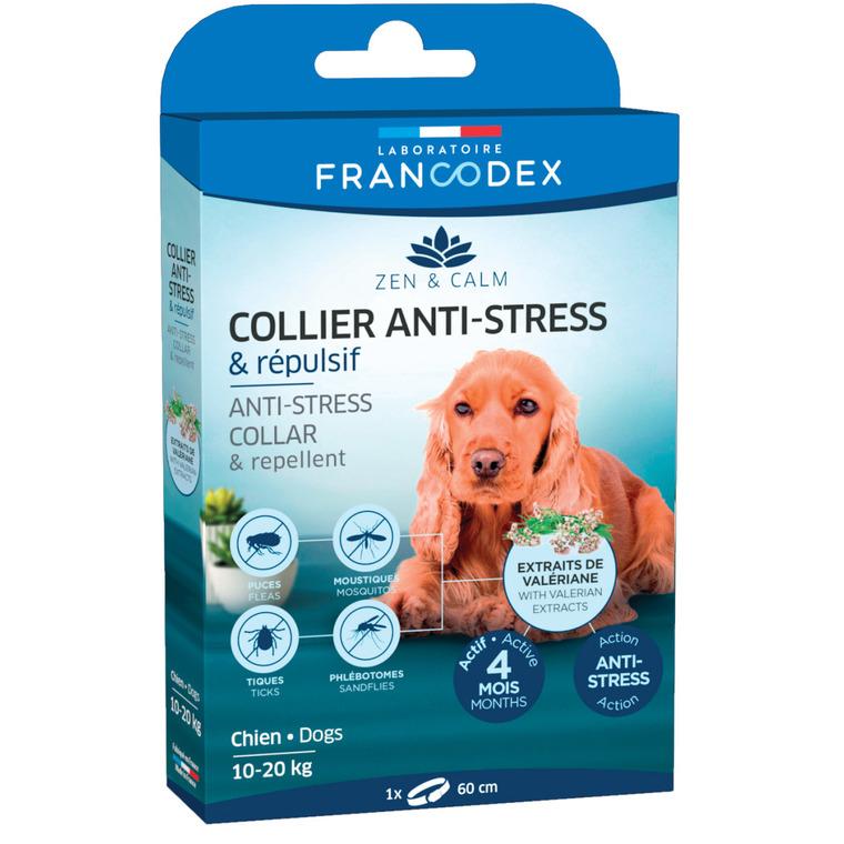 Collier anti-stress et répulsif pour chien - 60 cm 407277