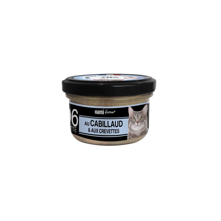 Boîte Chat Hamiform 80g, cabillaud, crevettes et riz 407749