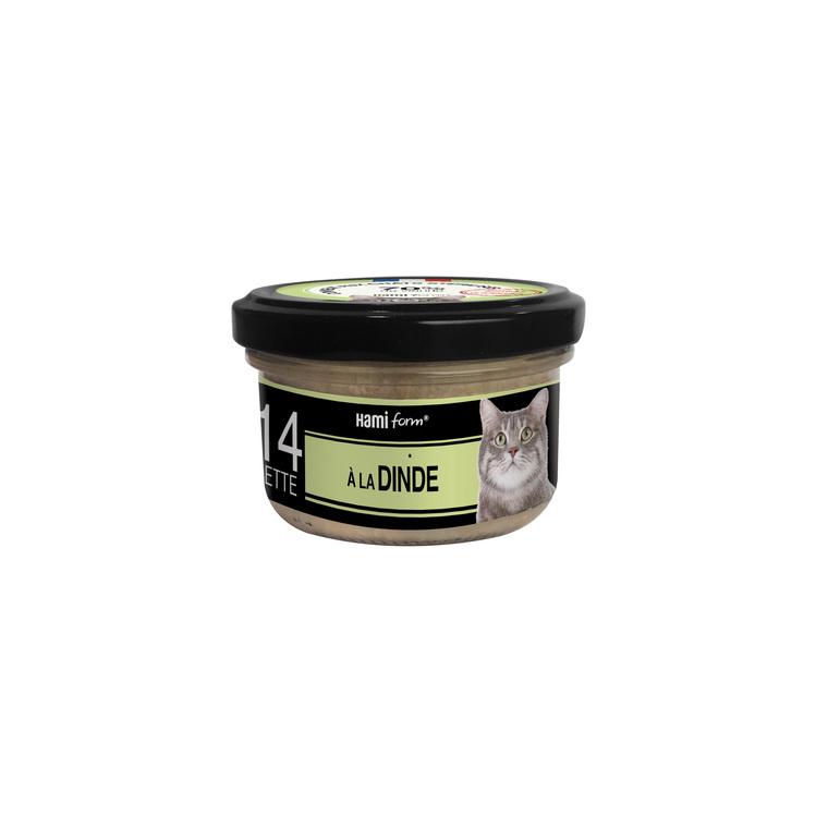 Aliment pour chat Recette n°30 au jambon, au thon et au fromage 80 g 407759