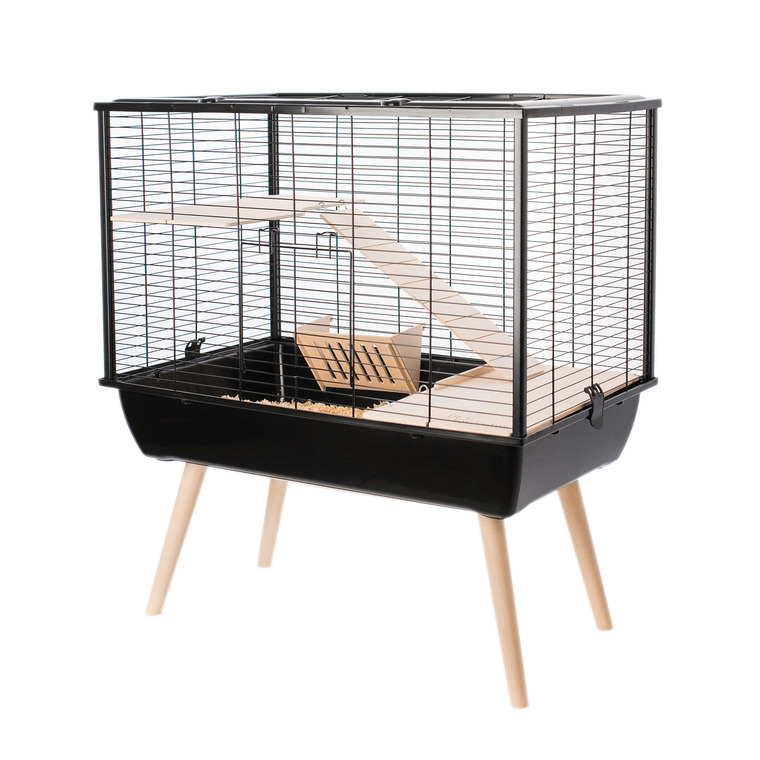 Cage Neo Muki Noir 77.5x47.5x58 cm 408124