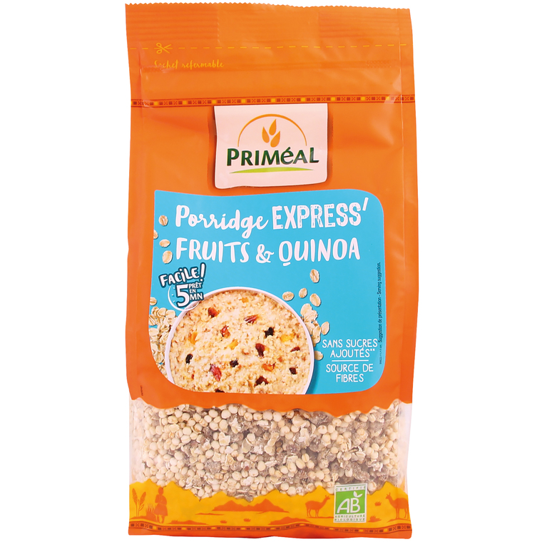 Crunchly choco coco au quinoa bio en sachet de 365 g 408465