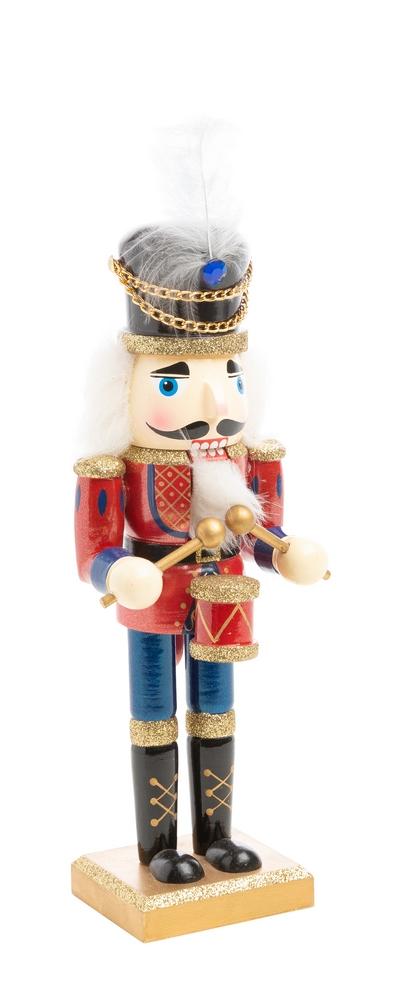 Figurine casse-noisette - 10x10x25 cm 410828