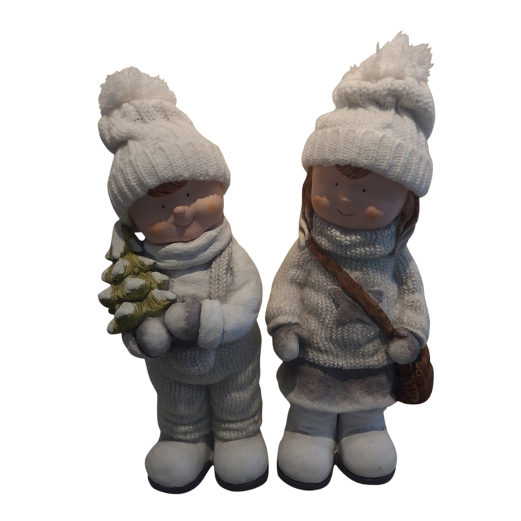 Figurine enfant à poser 16 cm 411475
