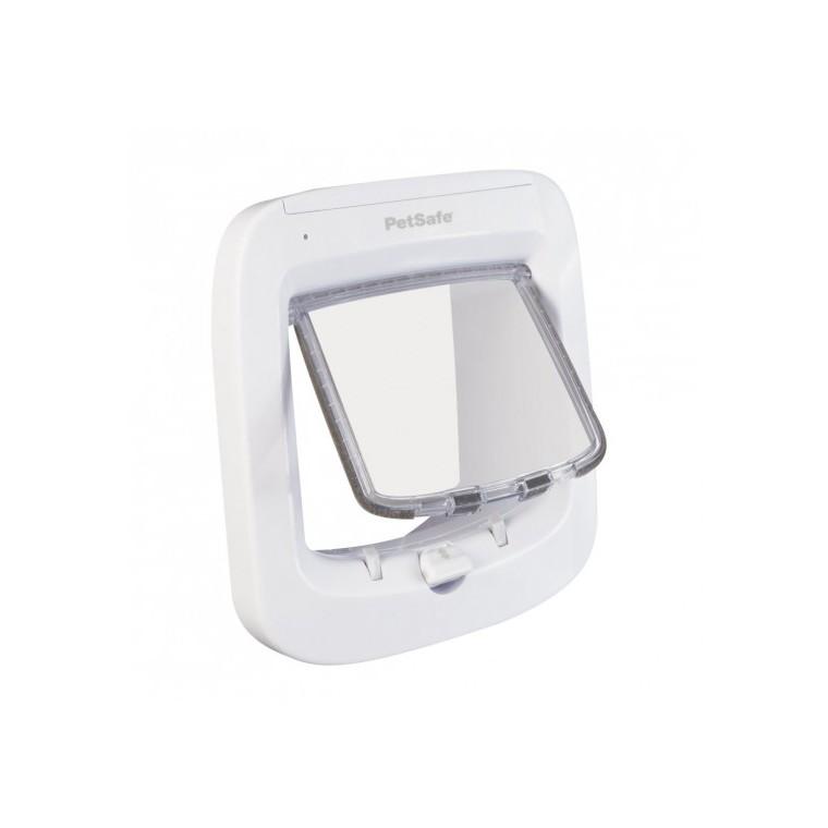 Chatière à puce électronique Petsafe blanc 22 x 23,9 cm 412694