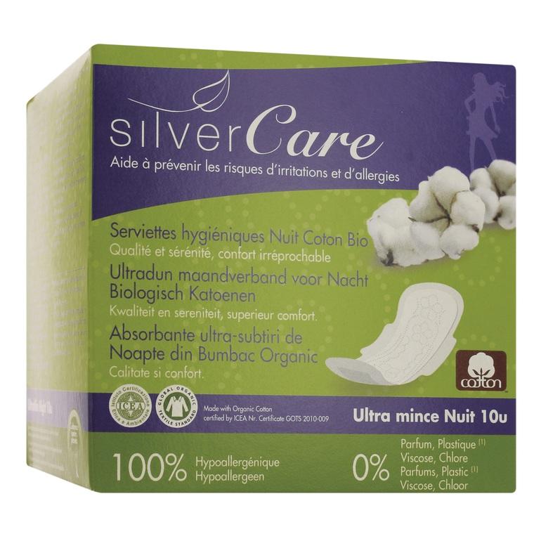 Serviette ultrafine Nuit - Boîte de 10 serviettes individuelles 412774