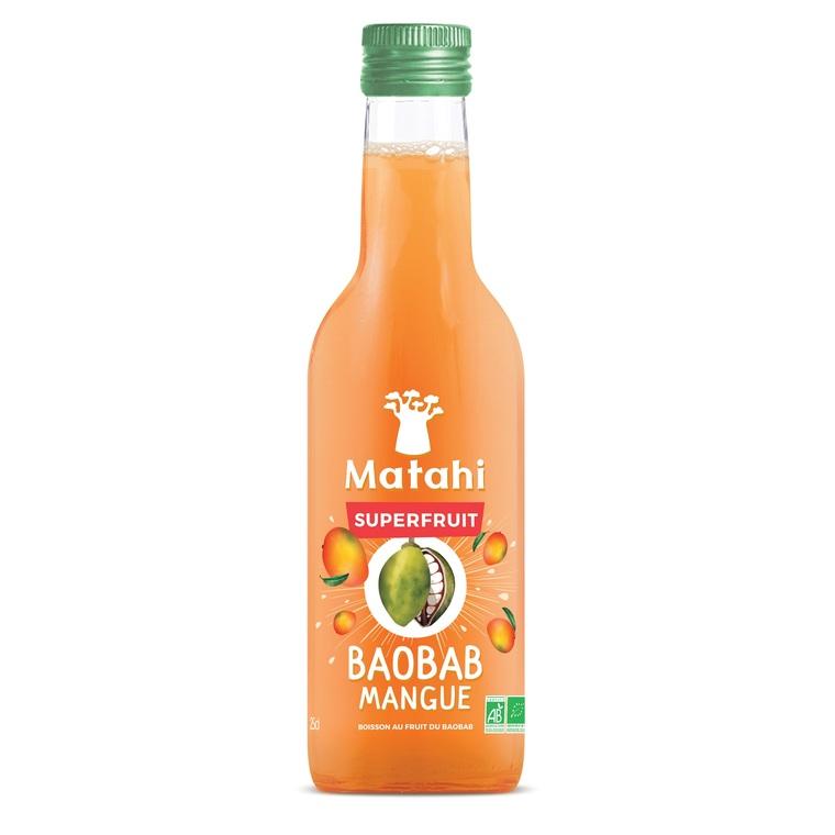 Superfruit Baobab/Mangue Bio en bouteille de 25 cl 412946