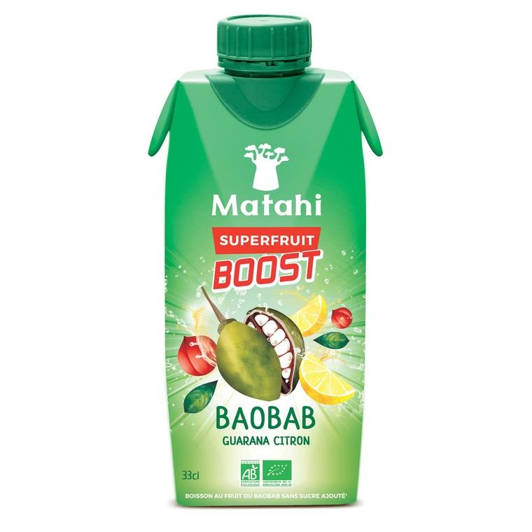 Matahi Boost Baobab/Citron en briquette de 33 cl 412953
