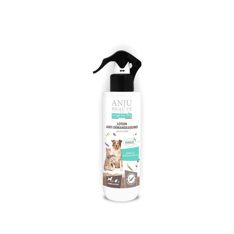 Lotion anti-démangeaisons pour chien et chat 250 ml 413424