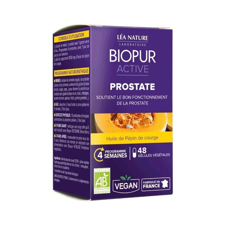 Gélules végétales active prostate en boite de 48 unités 413664