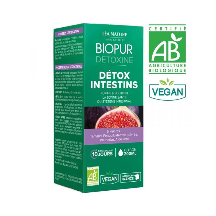 Cocktail détoxine pour intestins aux 7 plantes en boite de 200 ml 413668