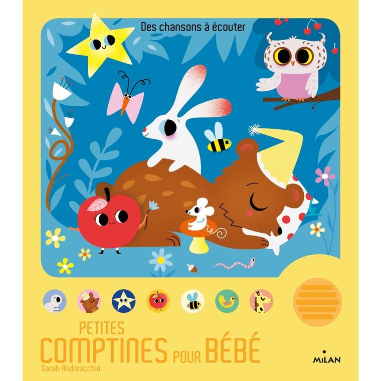 Petites Comptines pour Bébé Contes et Comptines à Écouter dès 1 an Éditions Milan 413799