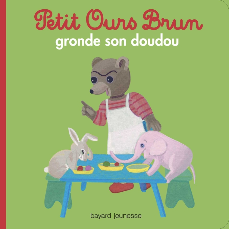 Petit Ours Brun Gronde son Doudou 2 à 4 ans Bayard Jeunesse 413827
