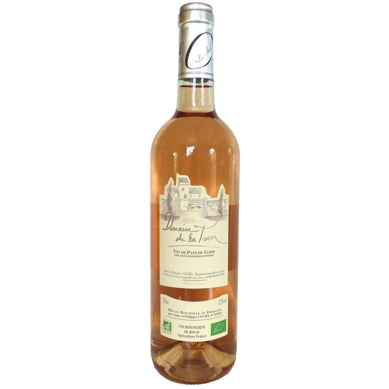 Vin rosé IGP Vin de pays du Gard BIO Domaine de Latour Caladoc 75 cl 414030