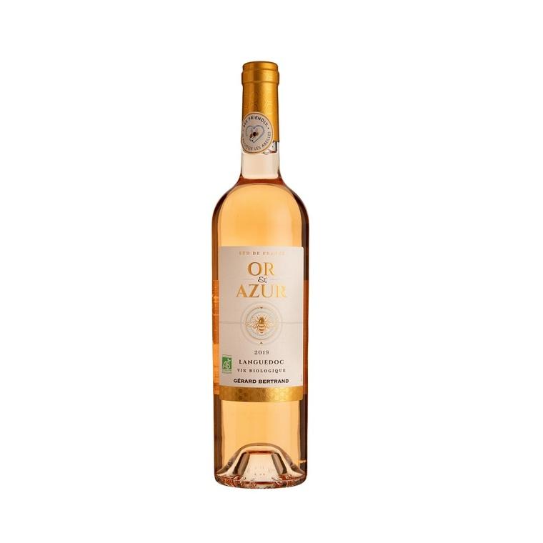 Vin rosé AOP Languedoc Or et Azur 75 cl 414280